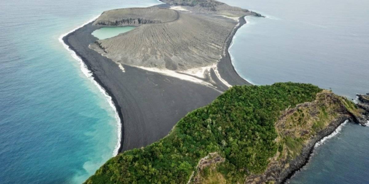 La misteriosa isla que apareció en el Pacífico