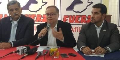 partido Fuerza se pronuncia por antejuicio contra su candidato a la Presidencia, Mauricio Radford