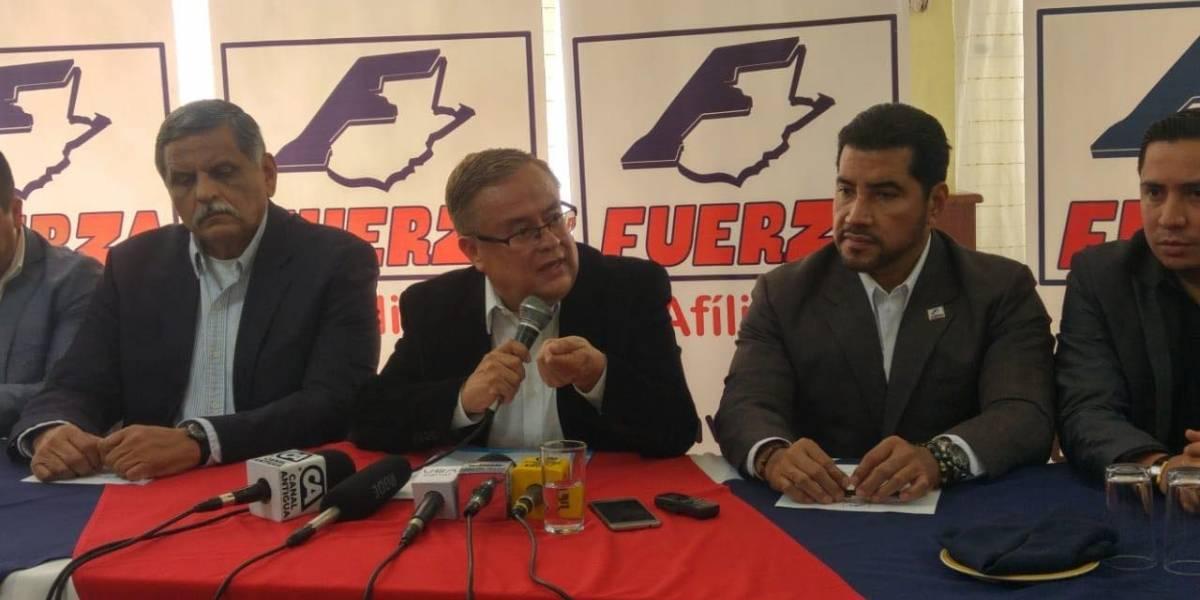 Partido Fuerza pide que antejuicio contra su presidenciable, Mauricio Radford, no avance