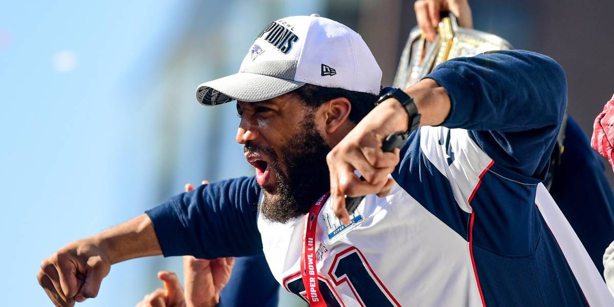 Espectacular manera de celebrar al campeón del Super Bowl LIII