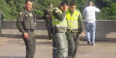 Policías que no pudieron salvar a mujer en Ibagué rompieron en llanto