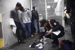 Presuntos asaltabuses capturados en carretera a El Salvador