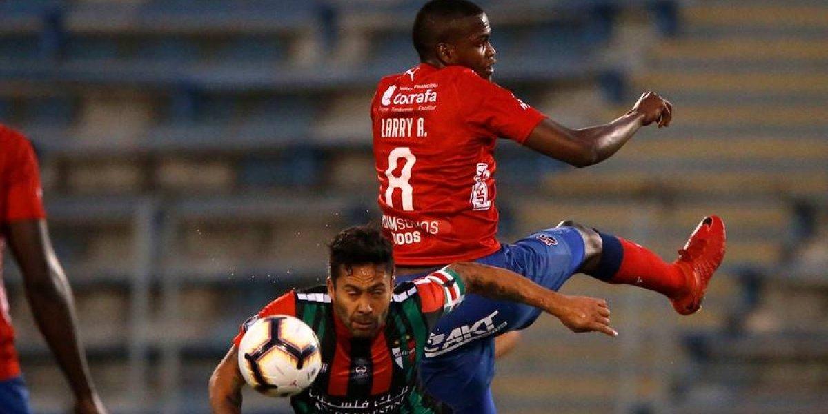 Así vivimos el empate de Palestino antre el DIM en Copa Libertadores