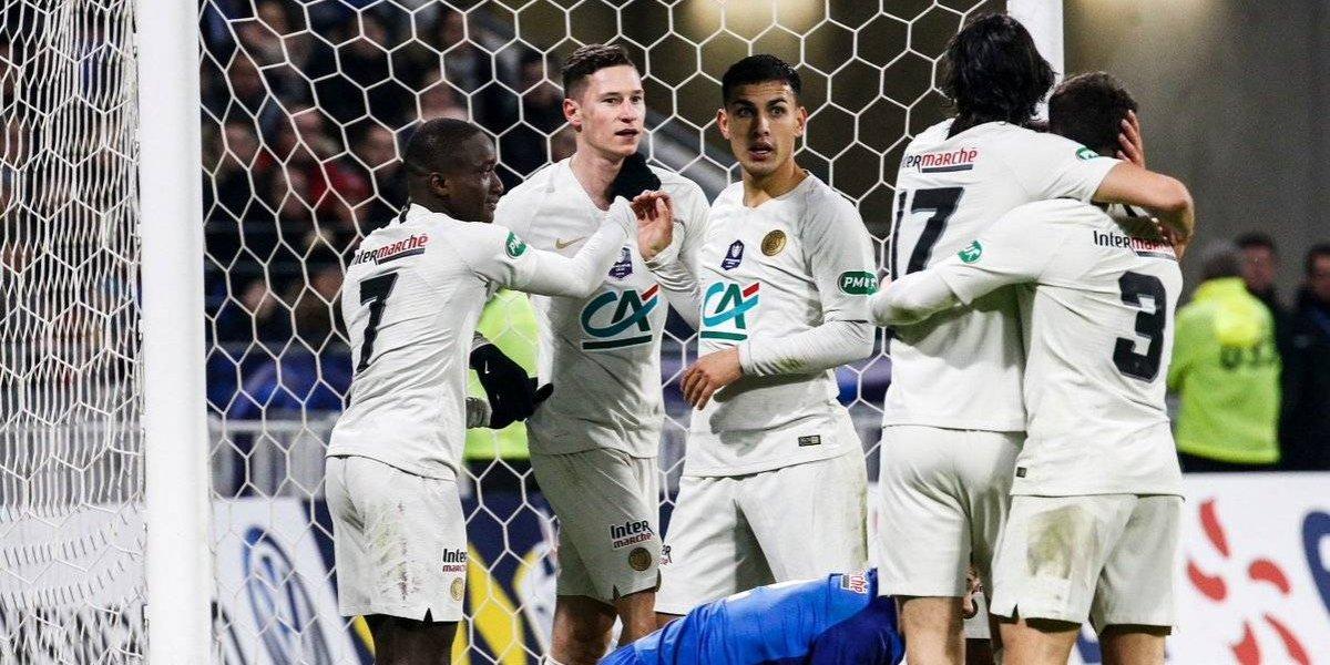 PSG se salvó de un papelón histórico en la Copa de Francia