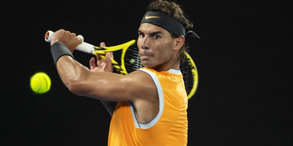 Rafael Nadal inaugurará centro deportivo de tenis en México