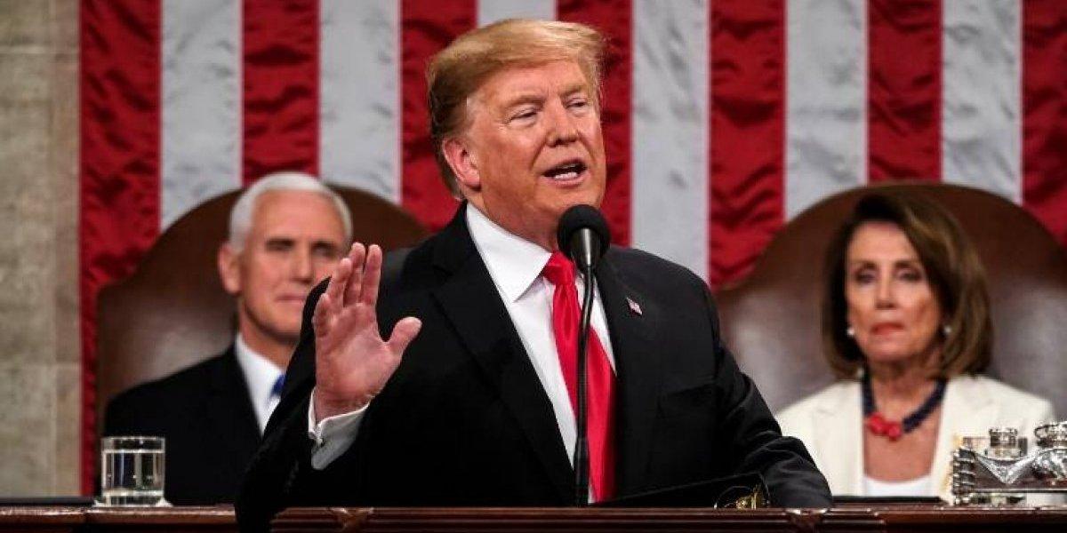 """Trump en su discurso sobre el Estado de la Unión: """"Los muros funcionan y los muros salvan vidas"""""""