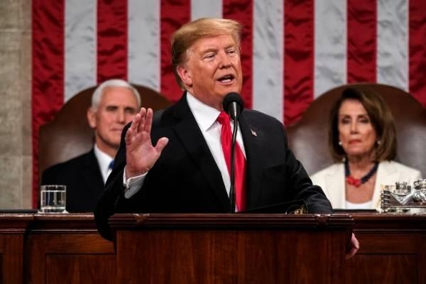 Donald Trump pronuncia su discurso sobre el Estado de la Unión