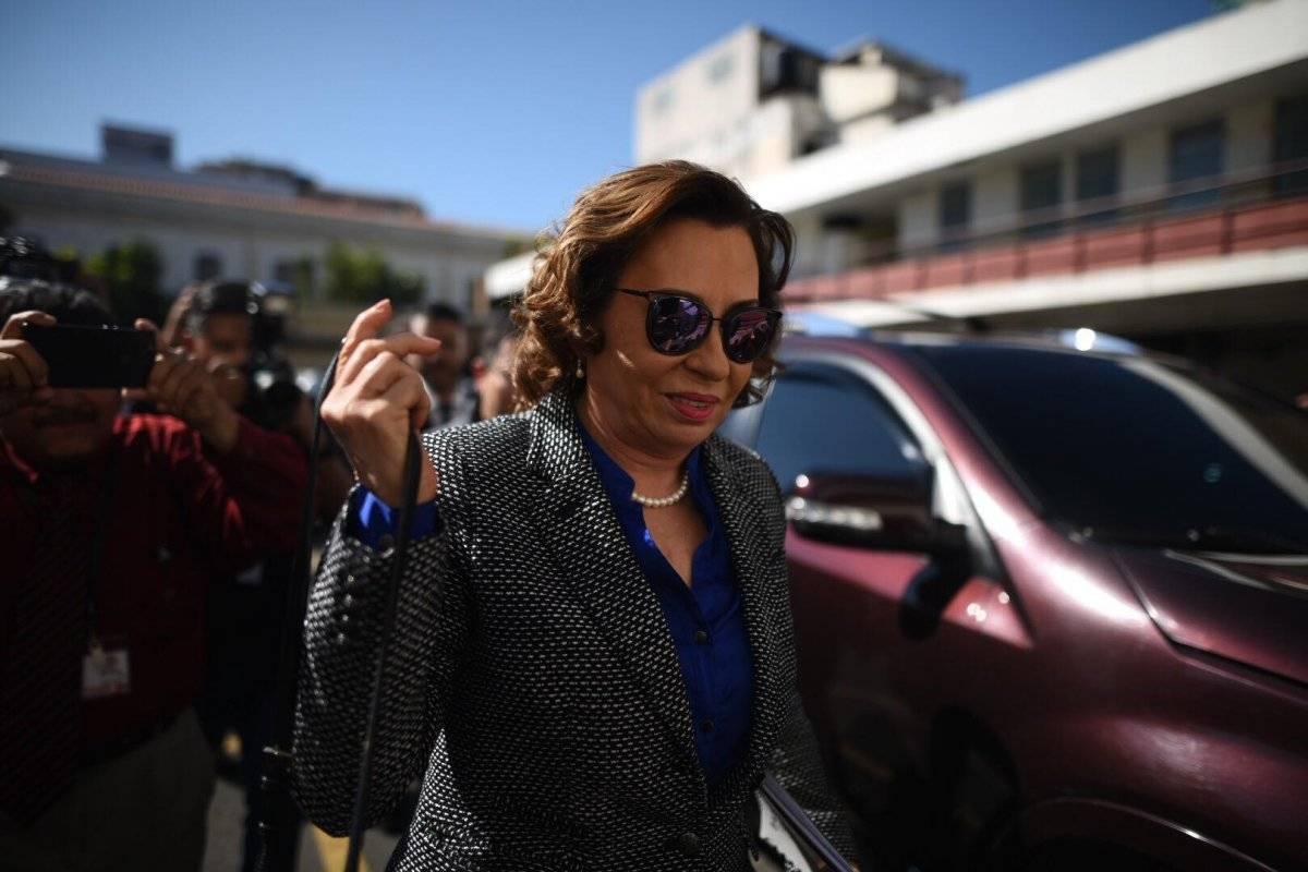 Sandra Torres acciona contra fiscales de la FECI. Foto: Edwin Bercián