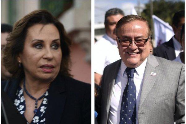 Sandra Torres y Mauricio Radford