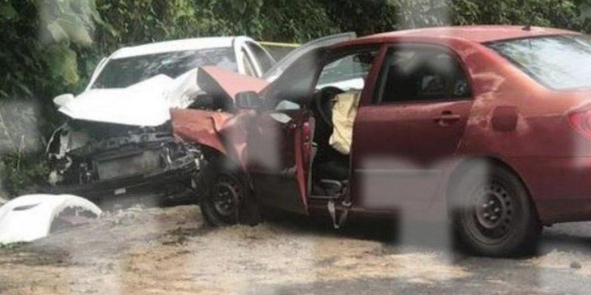 Reportan menores heridos tras accidente grave en Naranjito