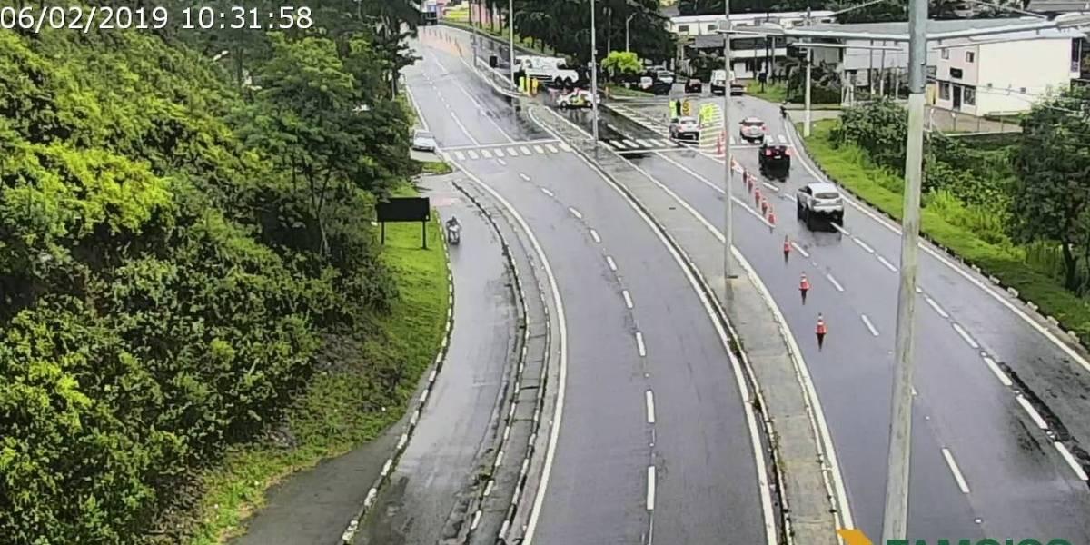 Após 24h de interdição, rodovia dos Tamoios é liberada