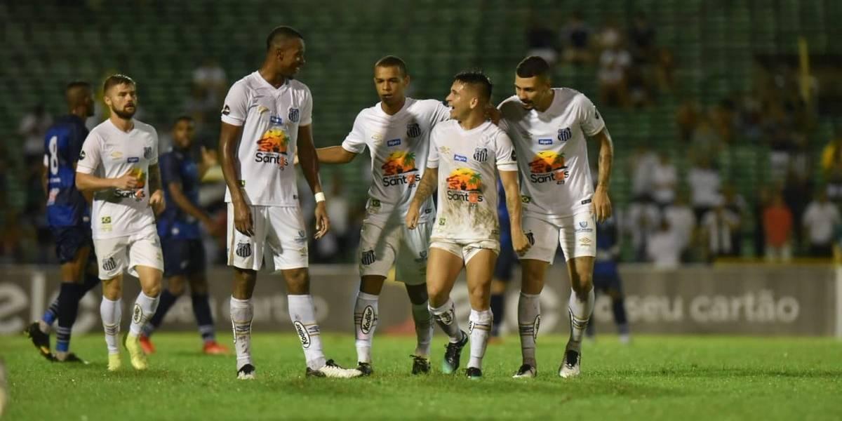 Con un gol de Soteldo, Santos de Sampaoli barrió a rival de cuarta división en la Copa de Brasil