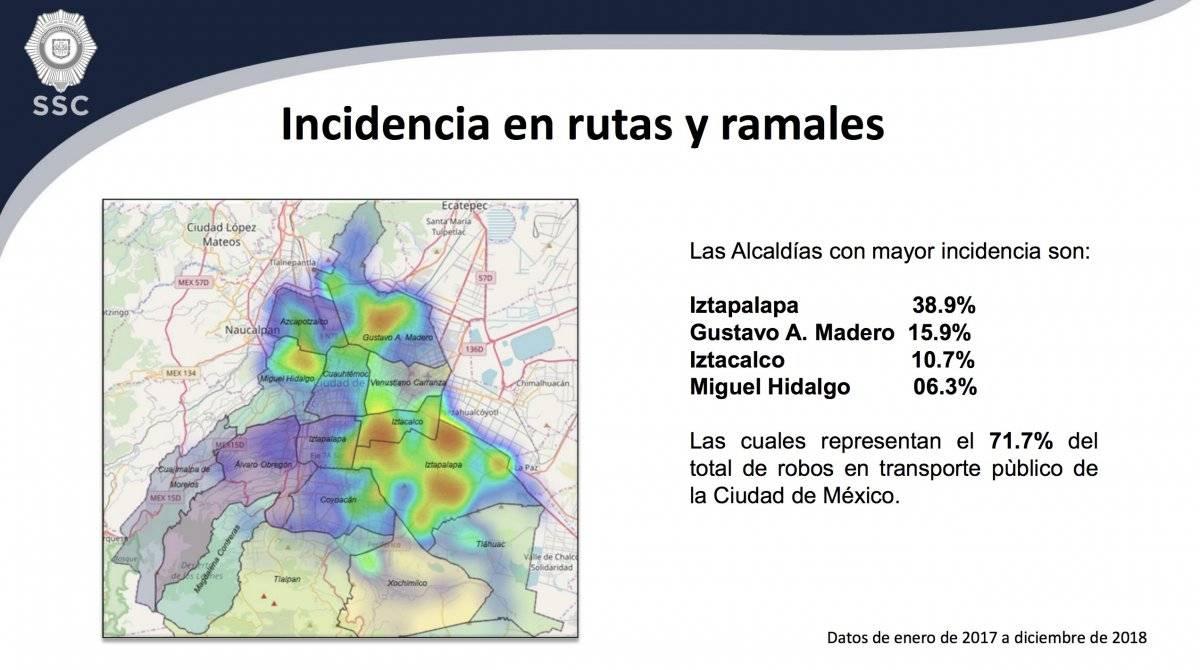 incidencia delictiva Cortesía.