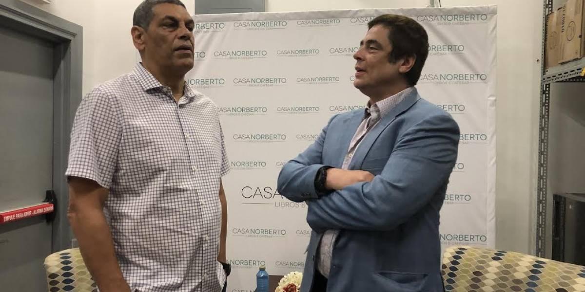 Benicio podría llevar al cine historia de su ídolo