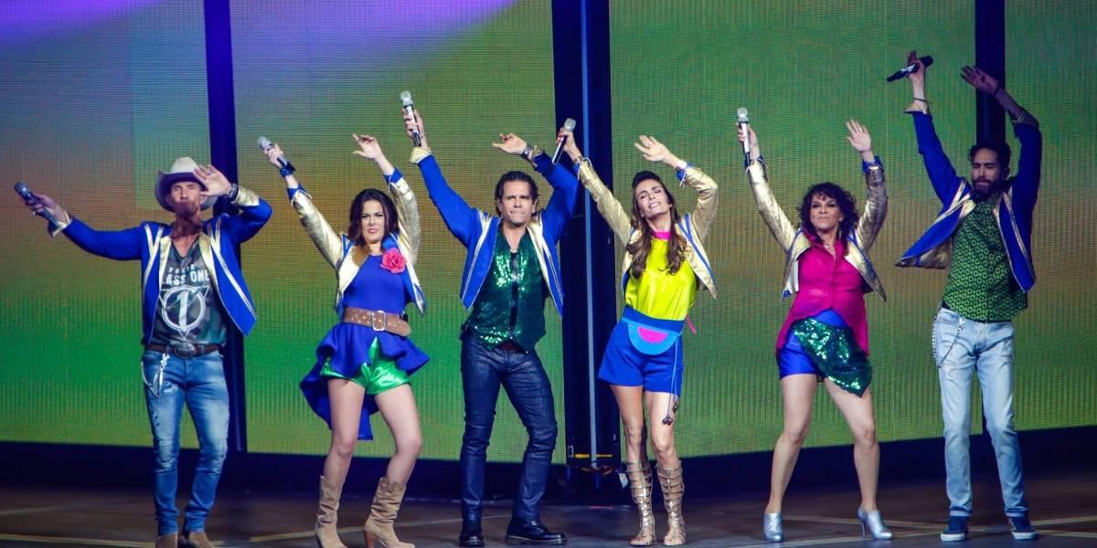 Timbiriche ofrece su quinto y último show en Guadalajara