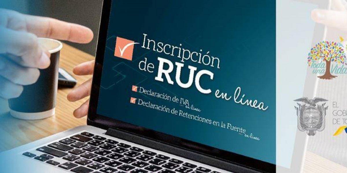 SRI: RUC en linea para personas naturales