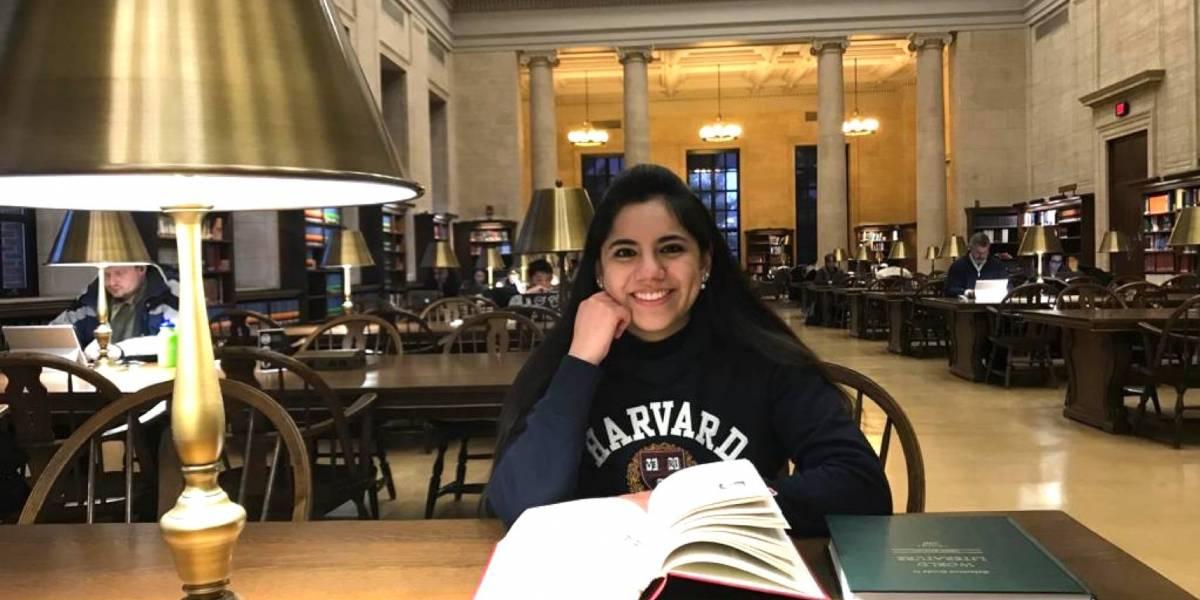 Joven genio mexicana estudiará posgrado en Harvard a sus 17 años