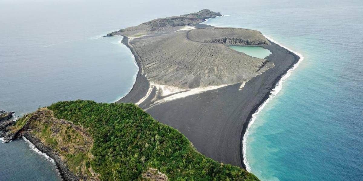 Logran llegar a una nueva isla en el Pacífico y se llevan una gran sorpresa