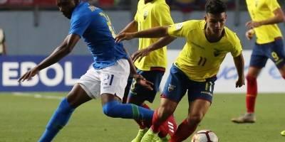Sudamericano Sub 20: Ecuador vs Brasil, En vivo, donde ver el partido, hora y alienaciones