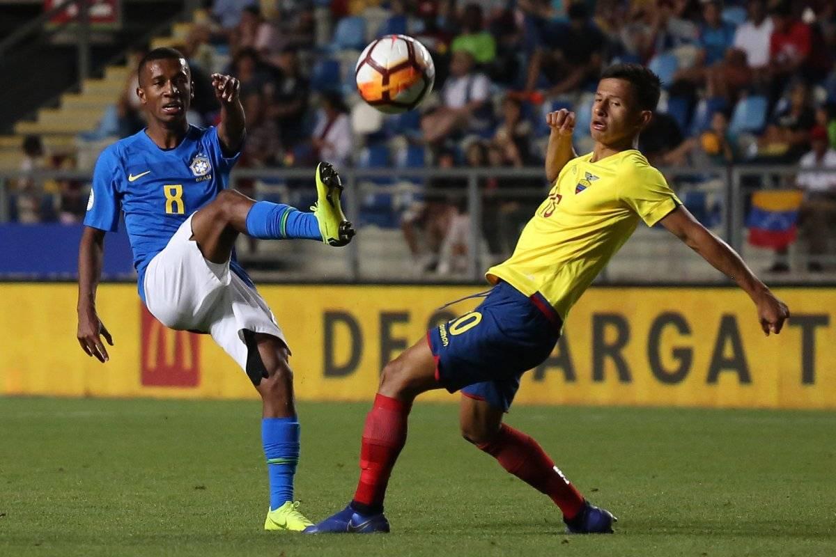 Sudamericano Sub 20: Ecuador vs Brasil, En vivo, donde ver el partido, hora y alienaciones EFE