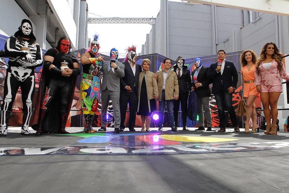 Todas las estrellas de la empresa aparecerán en la señal de Tv Azteca. / Notimex