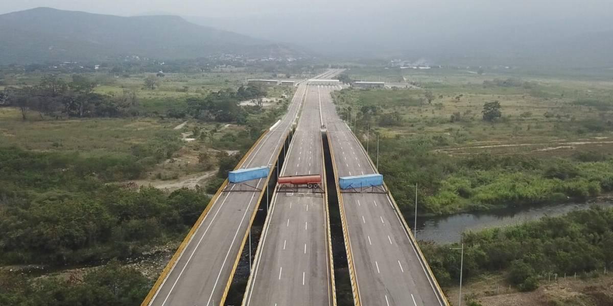 Llega primera ayuda para Venezuela a centro de acopio