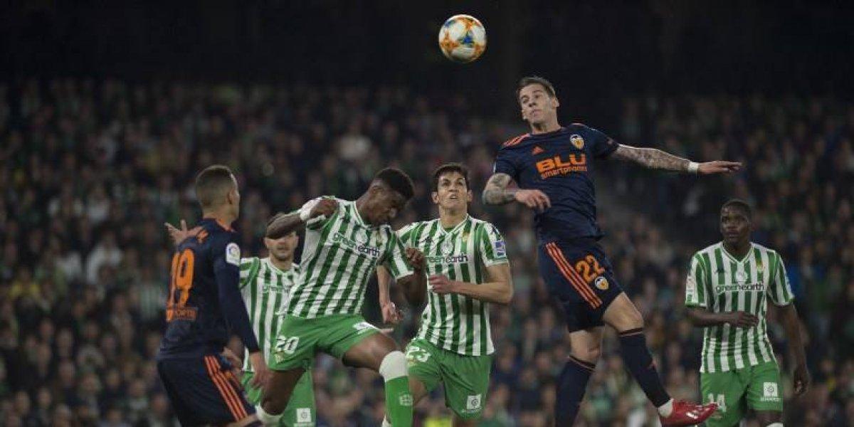La serie entre el Betis y el Valencia sigue abierta
