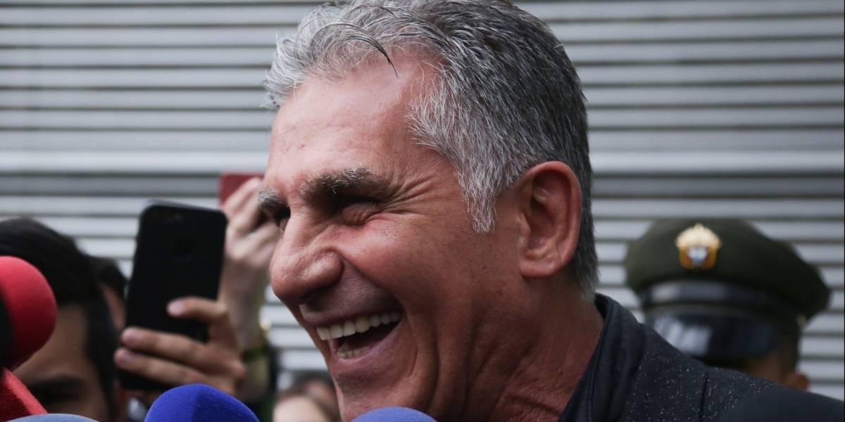 Las primeras promesas de Carlos Queiroz como nuevo técnico de Colombia
