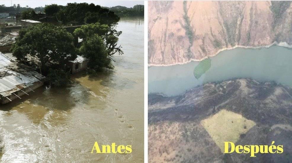 Antes y después riop cauca+