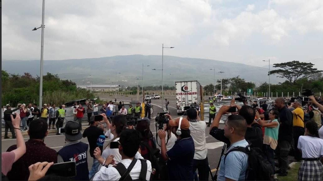 Llega a Cúcuta la primera parte de ayuda humanitaria para Venezuela Twitter