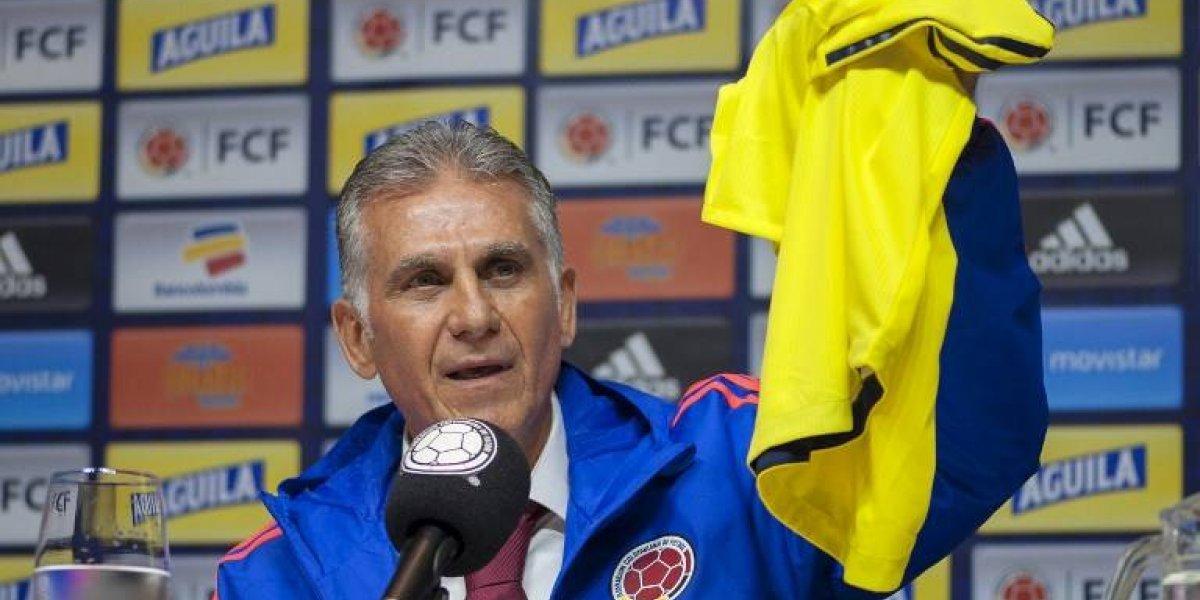 Colombia presenta a Carlos Queiroz como su nuevo entrenador