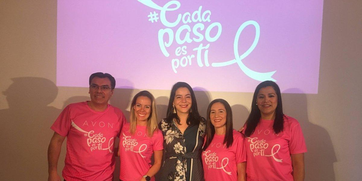 Con el lema #CadaPasoEsPorTi presentan la Carrera Caminata Avon
