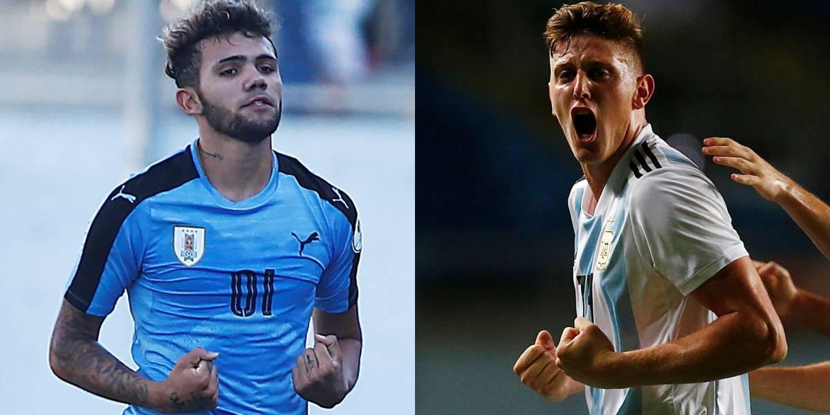 Argentina, a continuar su racha ganadora, ahora frente a Uruguay en el Sudamericano Sub-20