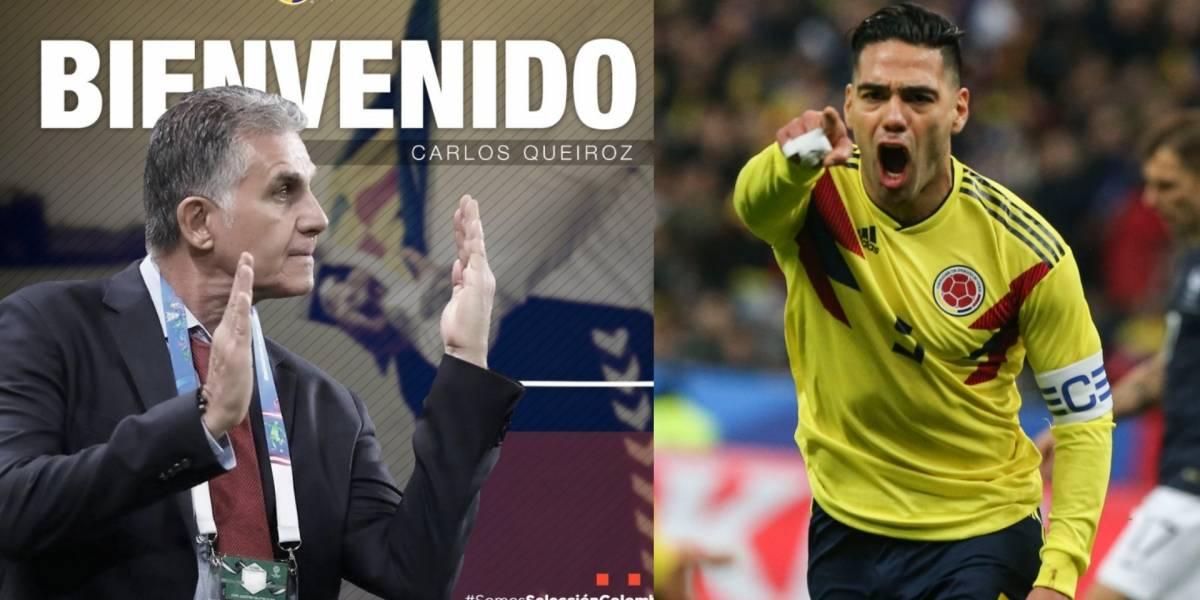 Definido cuándo y contra quién será el debut de Queiroz con la Selección Colombia