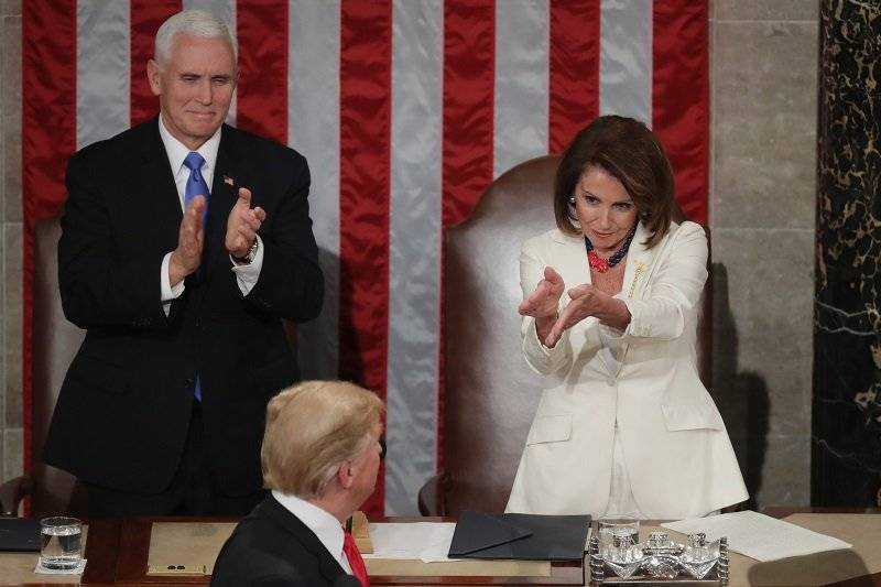 El momento de aplauso de Pelosi