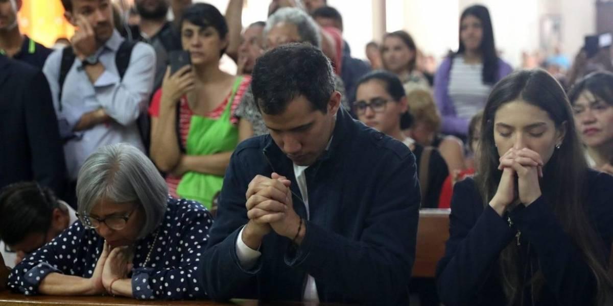 """""""Fin de la usurpación"""": Guaidó también pide ayuda al Papa Francisco"""