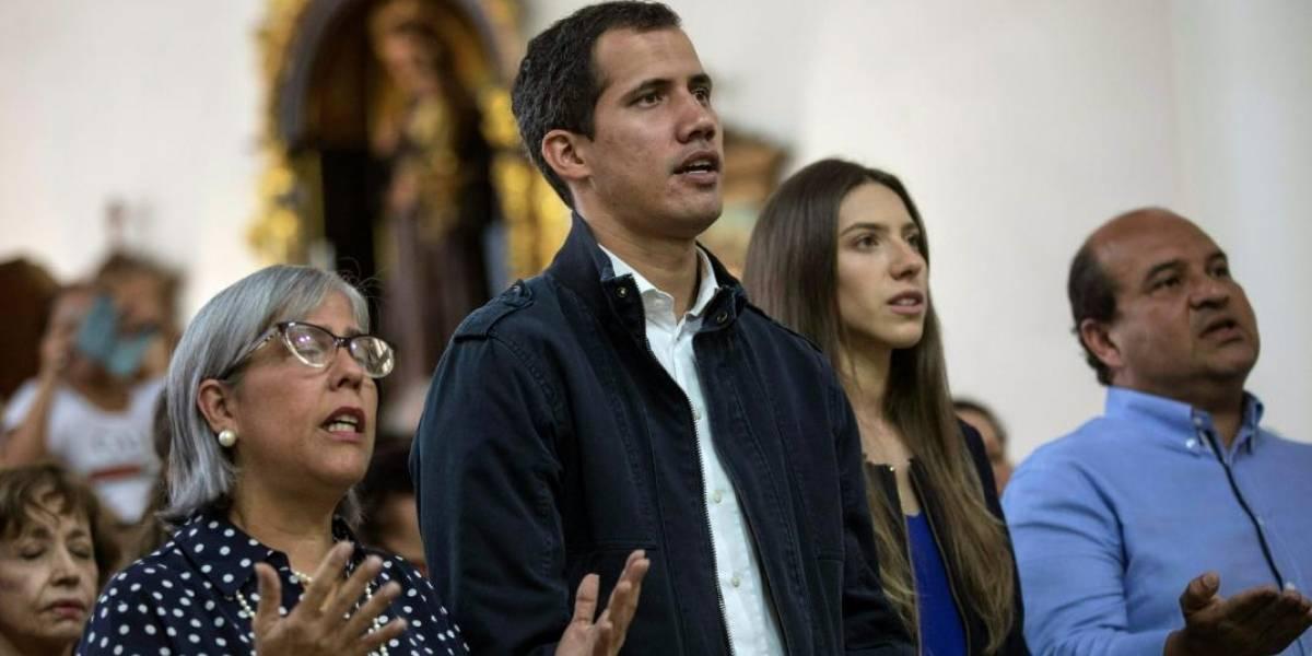 """""""Por el fin de la usurpación"""": Guaidó también pide ayuda al Papa"""