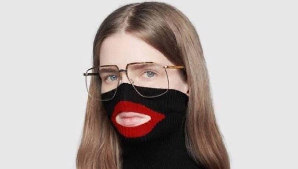 gucci sueter balaclava blackface