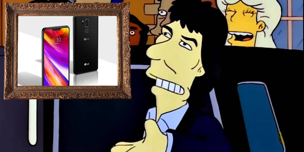 Eso ya se ha visto antes: El LG G8 será un iPhone X