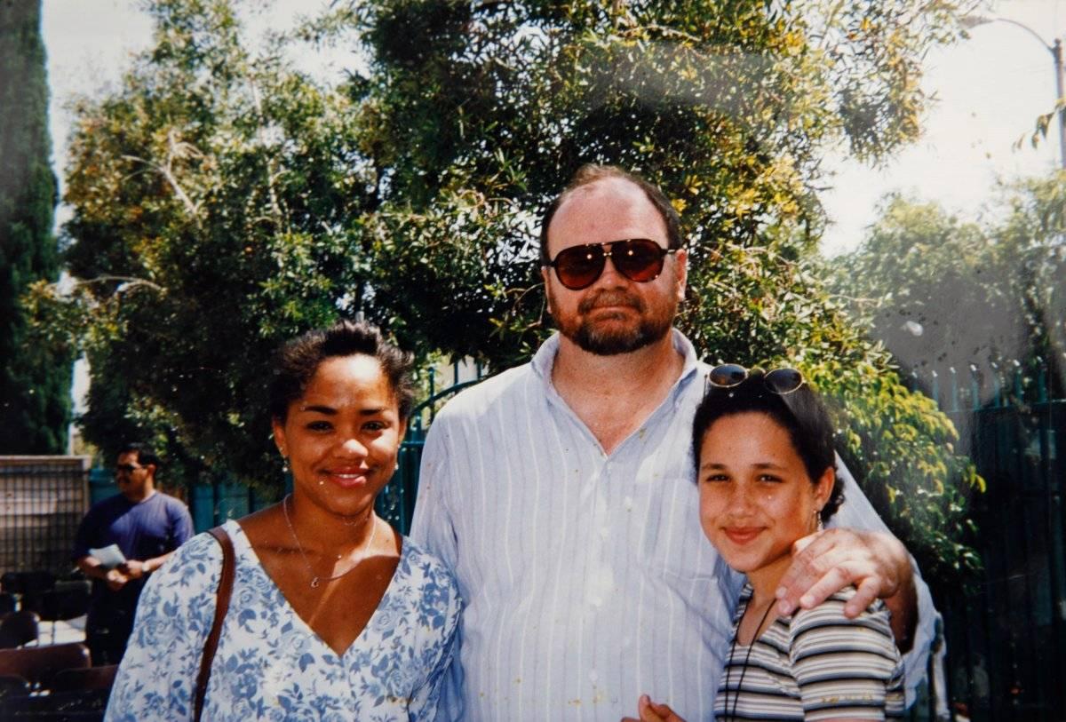 Meghan Markle y sus papás