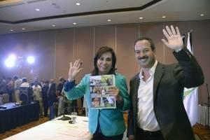 Sandra Torres y Mario Leal Castillo