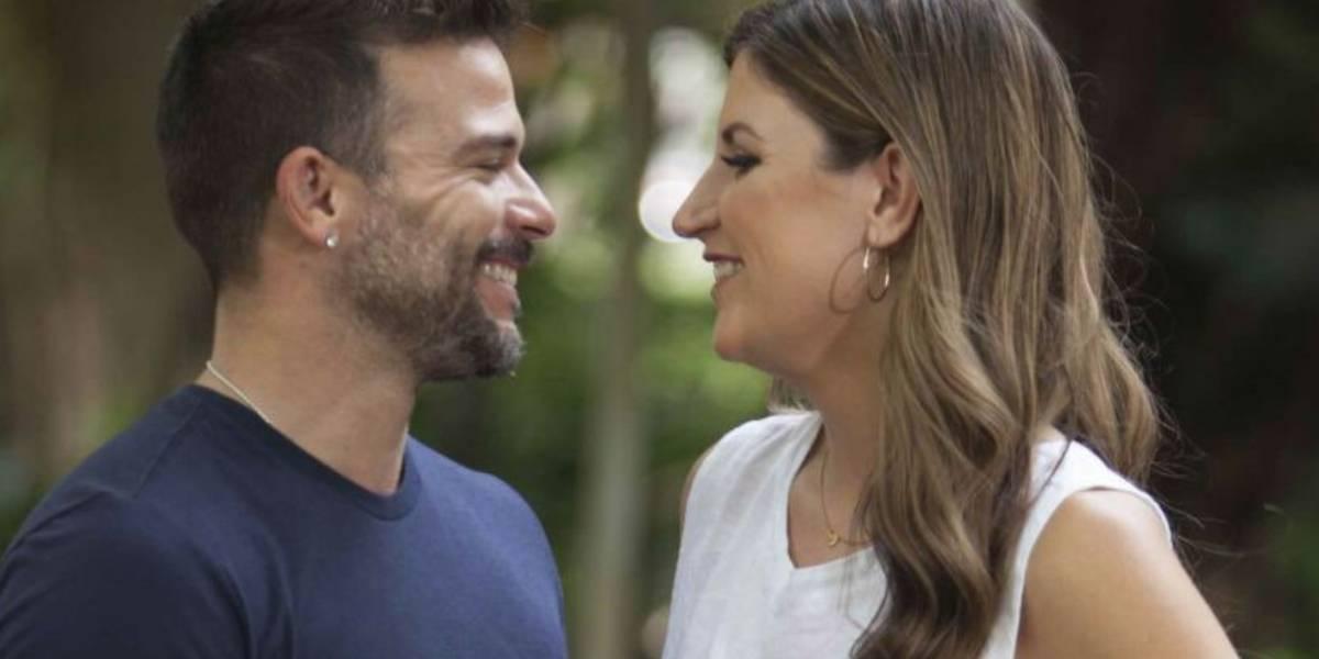 Pedro Capó y su esposa juntos en Costa Rica