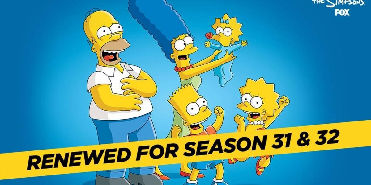Confirman que Los Simpson tendrán dos temporadas más