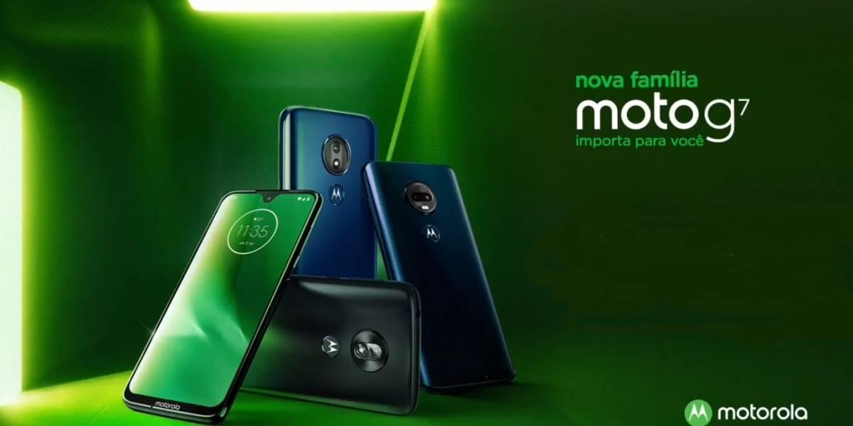 Tecnologia: Novo smartphone MOTO G7 é lançado oficialmente no Brasil