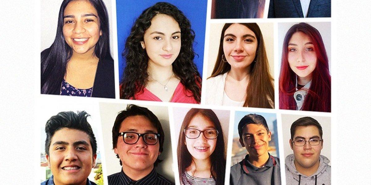 """""""Youth Ambassadors"""": la iniciativa que llevará a 13 jóvenes chilenos a Estados Unidos"""