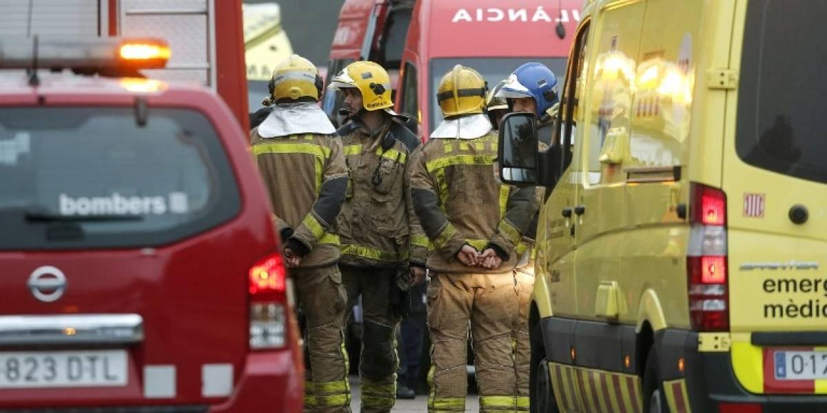 Accidente ferroviario en Barcelona deja un muerto y varios heridos