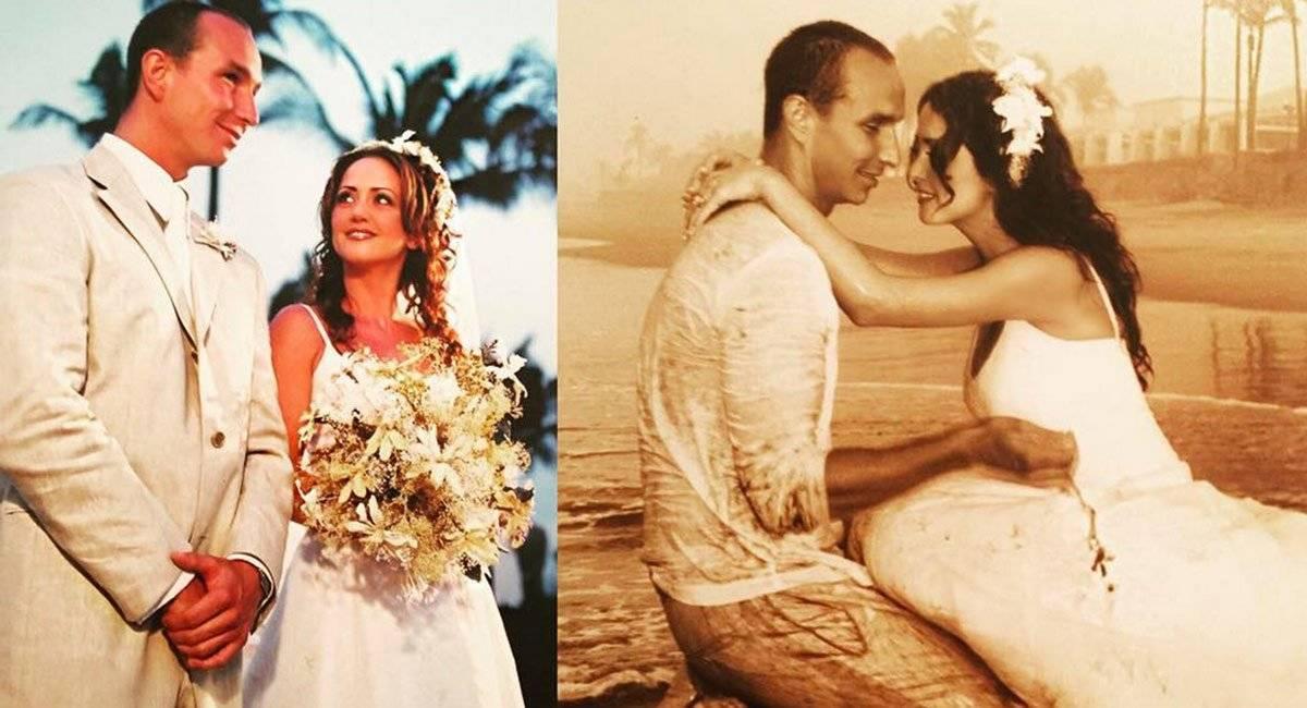 Andrea Legarreta boda Erik Rubín