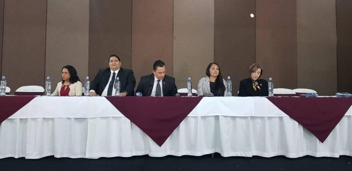 Profesionales del derecho eligen autoridades gremiales. Foto: Cortesía