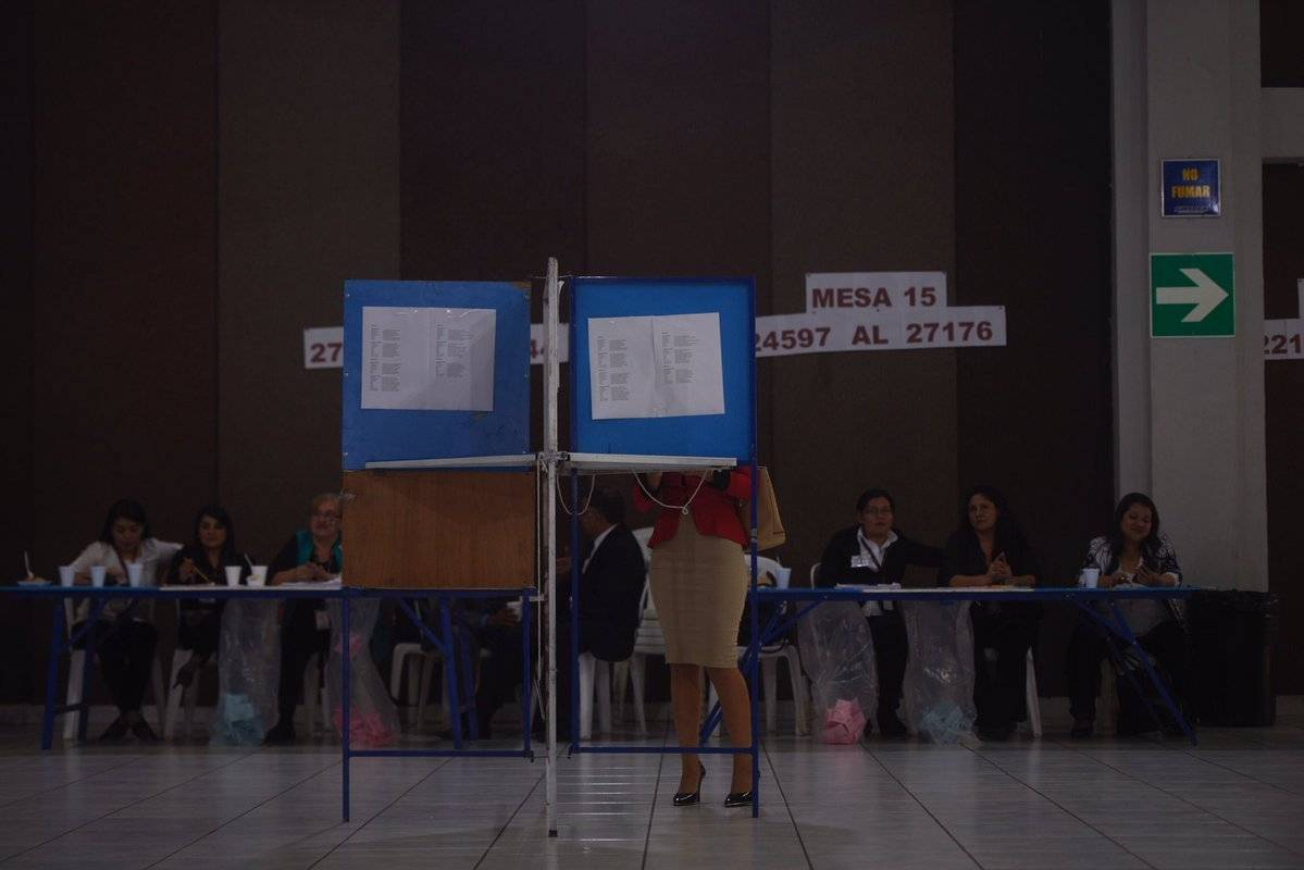 Elección CANG 2019. Foto: Omar Solís