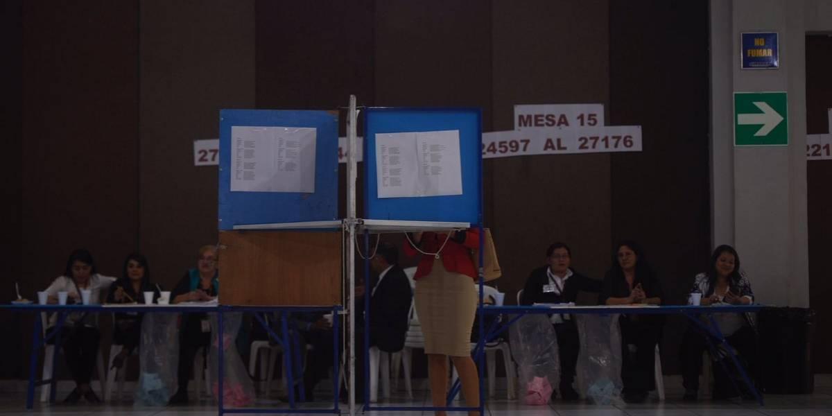 VIDEO. Así se desarrollan las votaciones del CANG en la capital